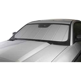 Silver UVS 100 Custom Fit Sunscreen for Select Ford F-150 Models - Laminate Material, 1 Pack
