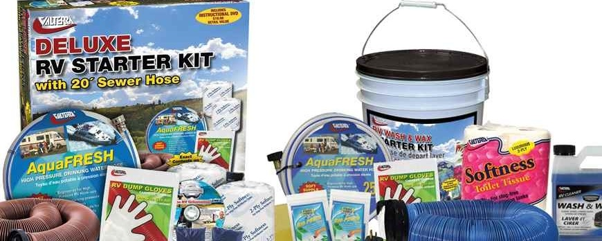 What to Include In Your RV Starter Kit