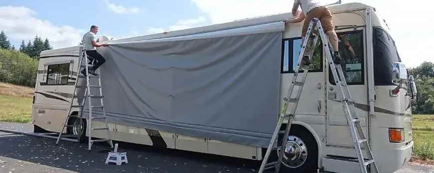 How to Replace an RV Awning Fabric